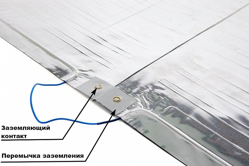 Заземляющий контакт и перемычка заземления в нагревателе ЗЕБРА ЭВО-300